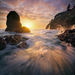 Sunset Symphony - Oceanside Oregon