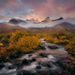 Autumn, Steens, Mountains, Alvord, Creek, Sunrise