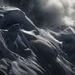Crevasses, cornice, snow, high mountains, Wrangell, alaska, kluane, Canada