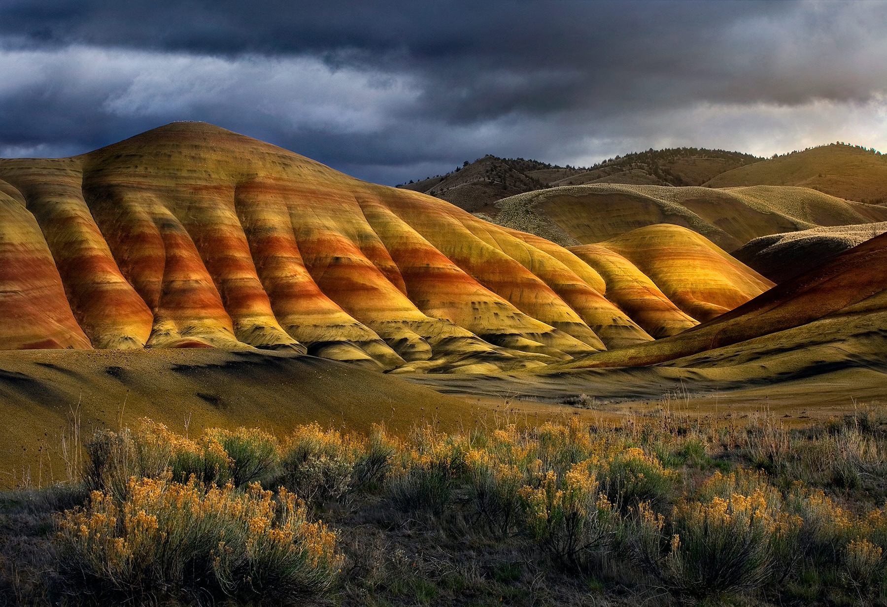 Color, Light and Form (2006) | Painted Hills, Oregon ...