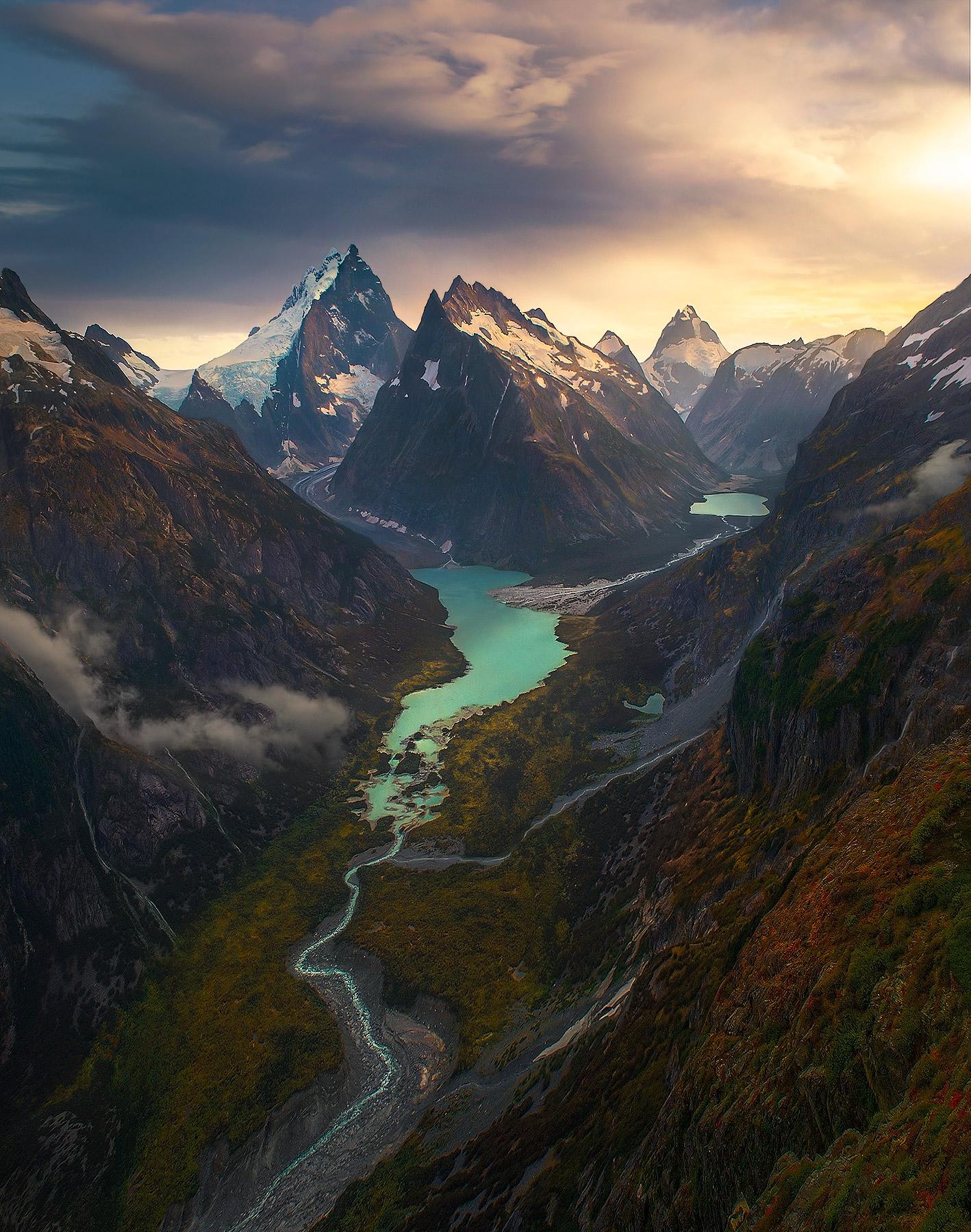 Autumn, British Columbia, alpine, boundary range, jagged, Alaska, glacier, photo