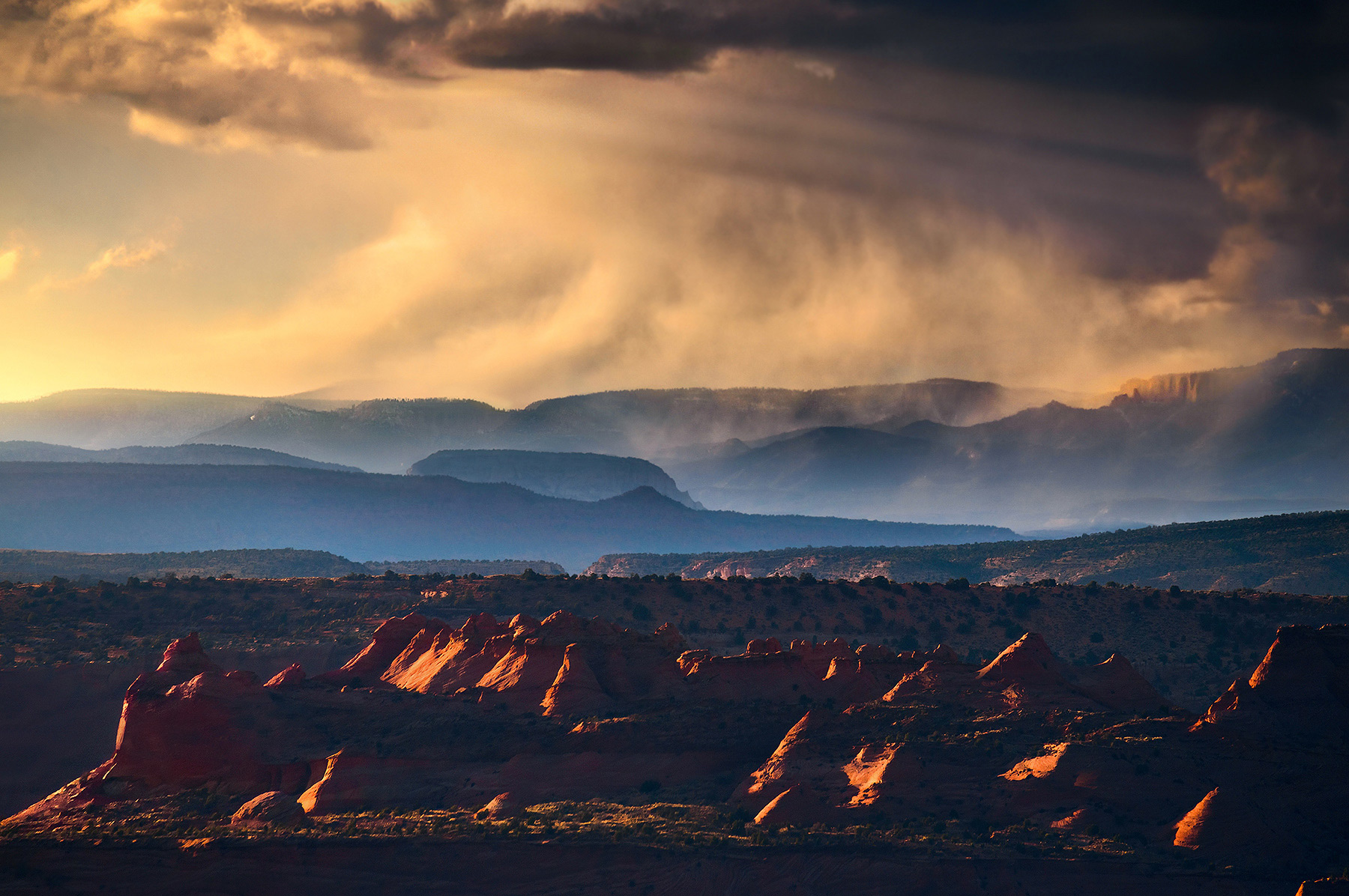 storm, layers, arizona, sandstone, vermillion cliffs, colorado plateau, photo