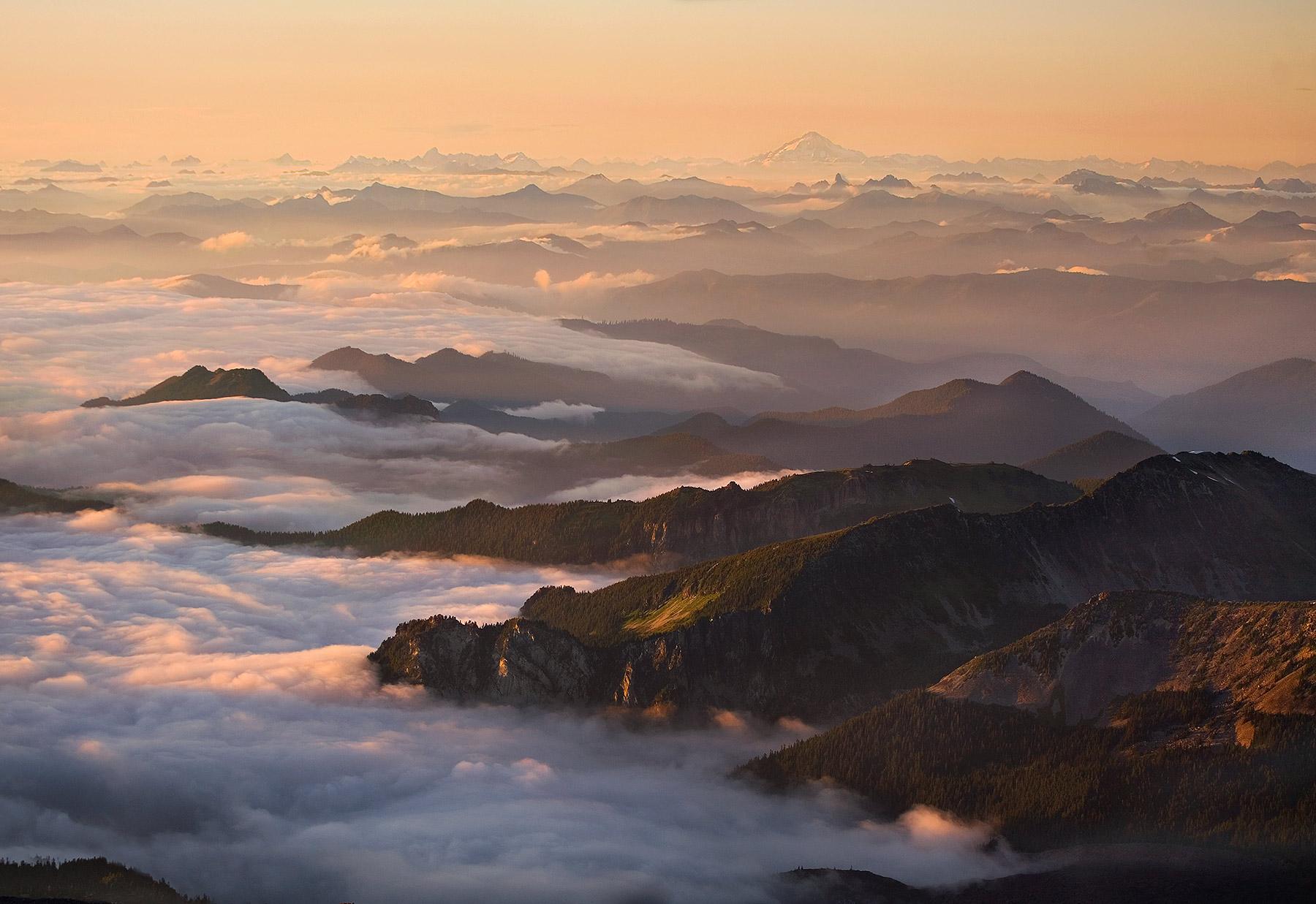 mountains, north cascades, washington, mount rainier, photo