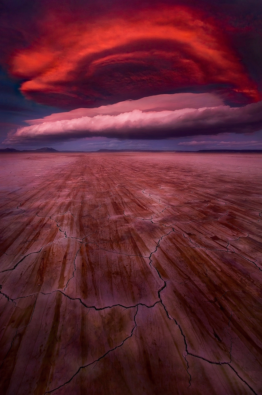Surreal, Otherworldly, Awesome, Lenticular, sunset, oregon, alvord, desert, storm, photo