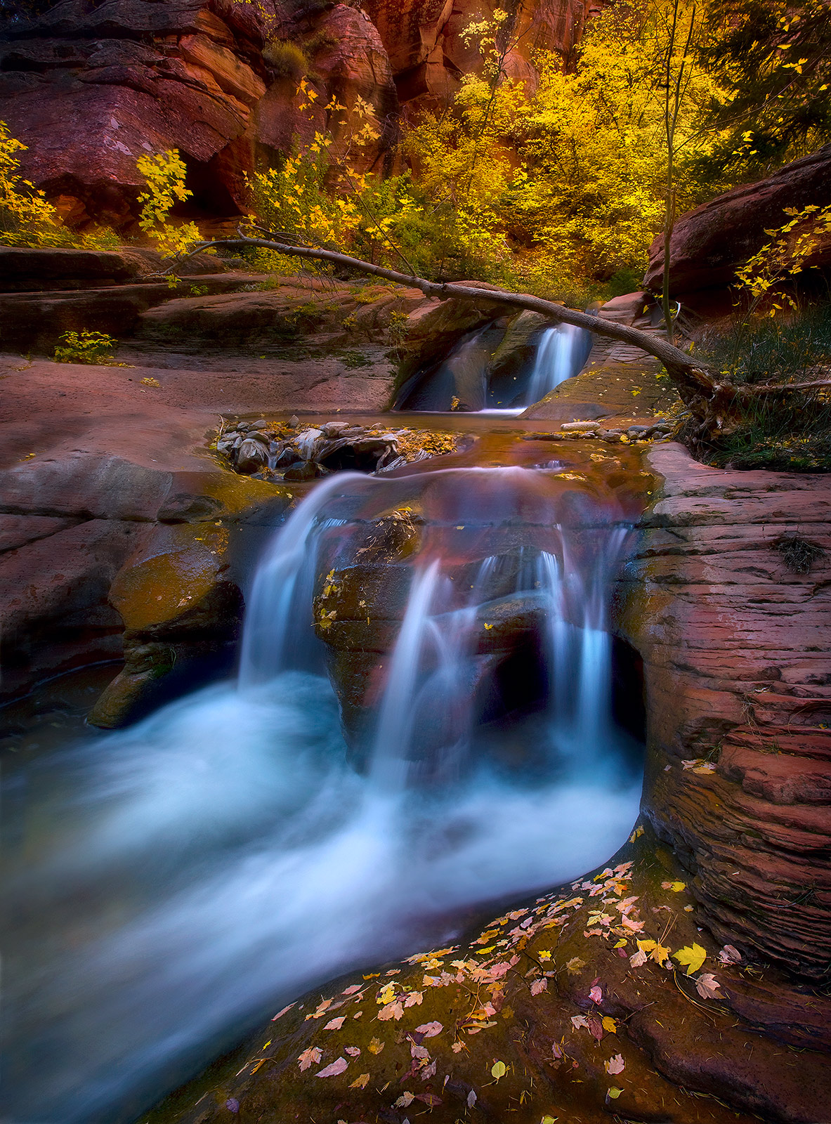 This rarely photographed canyon just outside Cedar City in southern Utah has some of the most beautiful slot canyon falls I've...