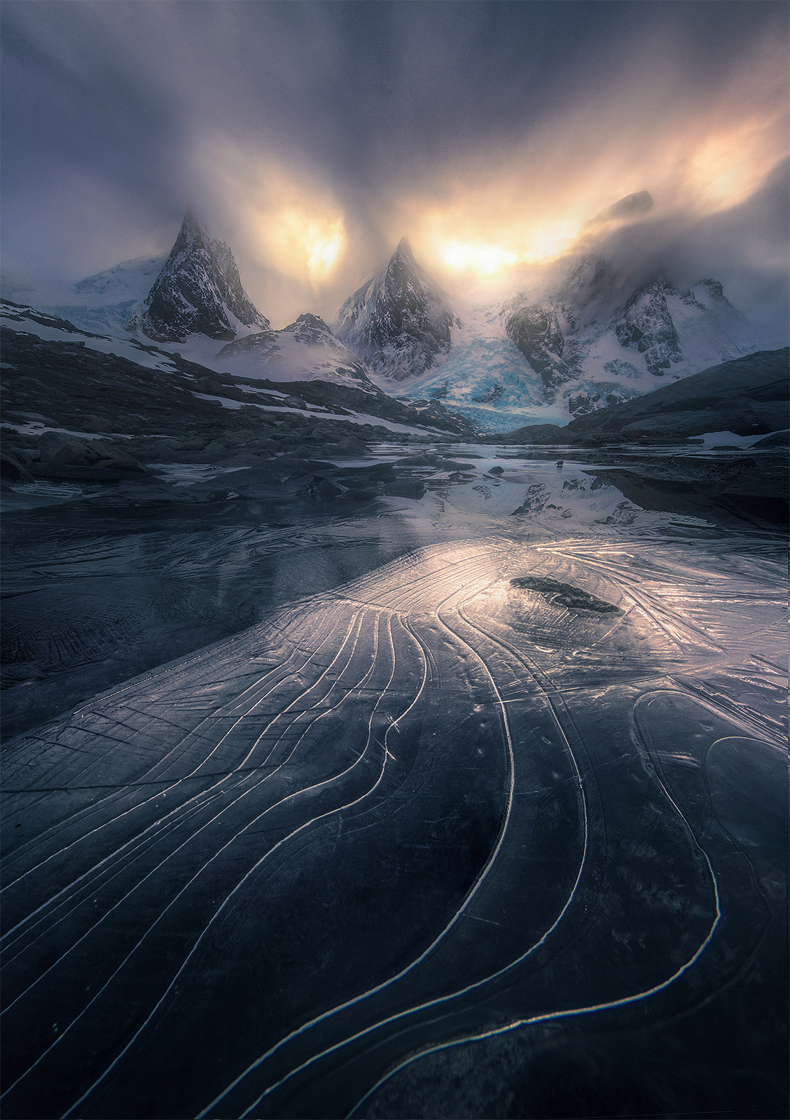 Chile, fiords, Patagonia, photo