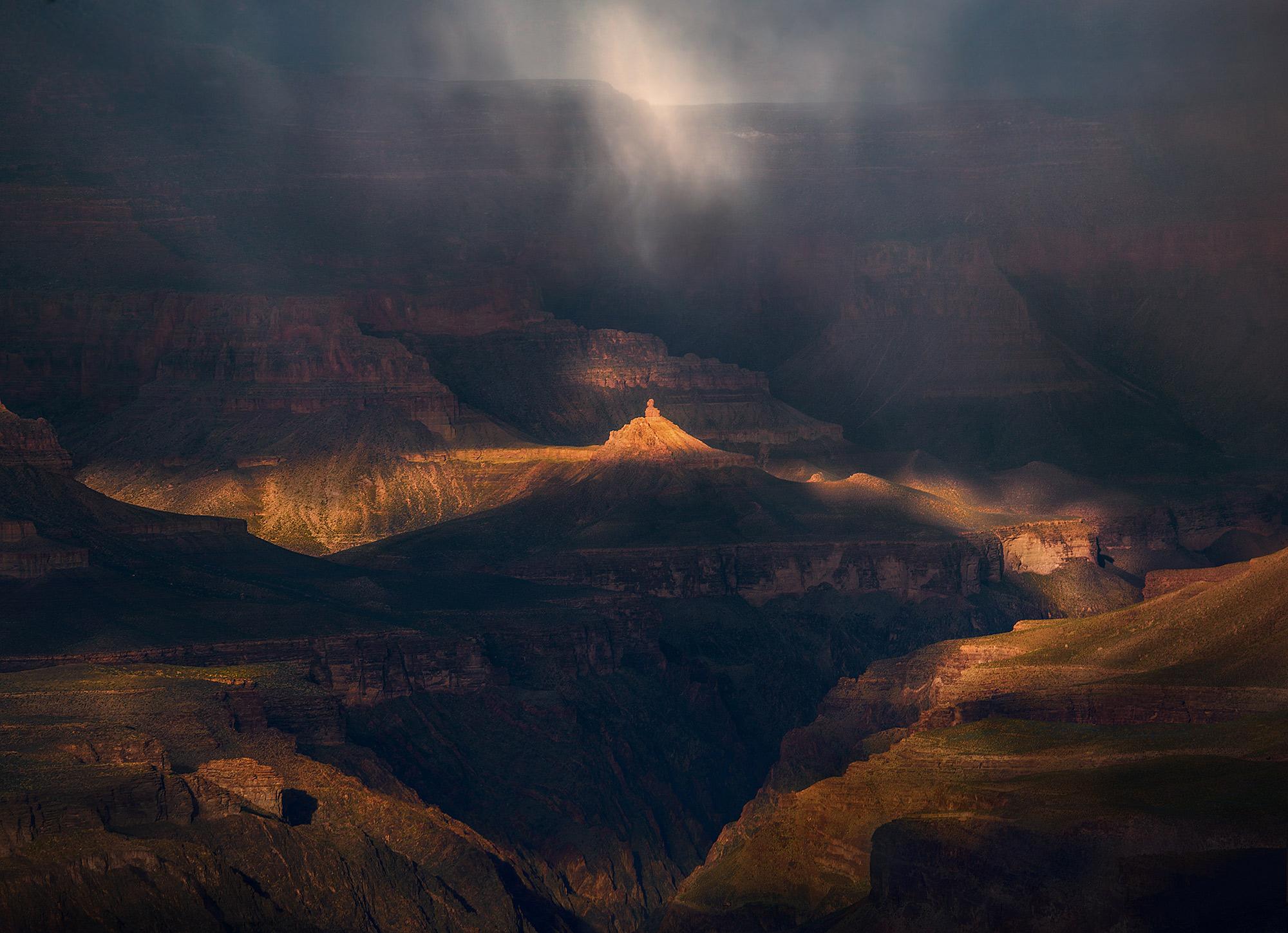 South Rim, Grand Canyon, Snow, Unique, Dramatic, Arizona, photo
