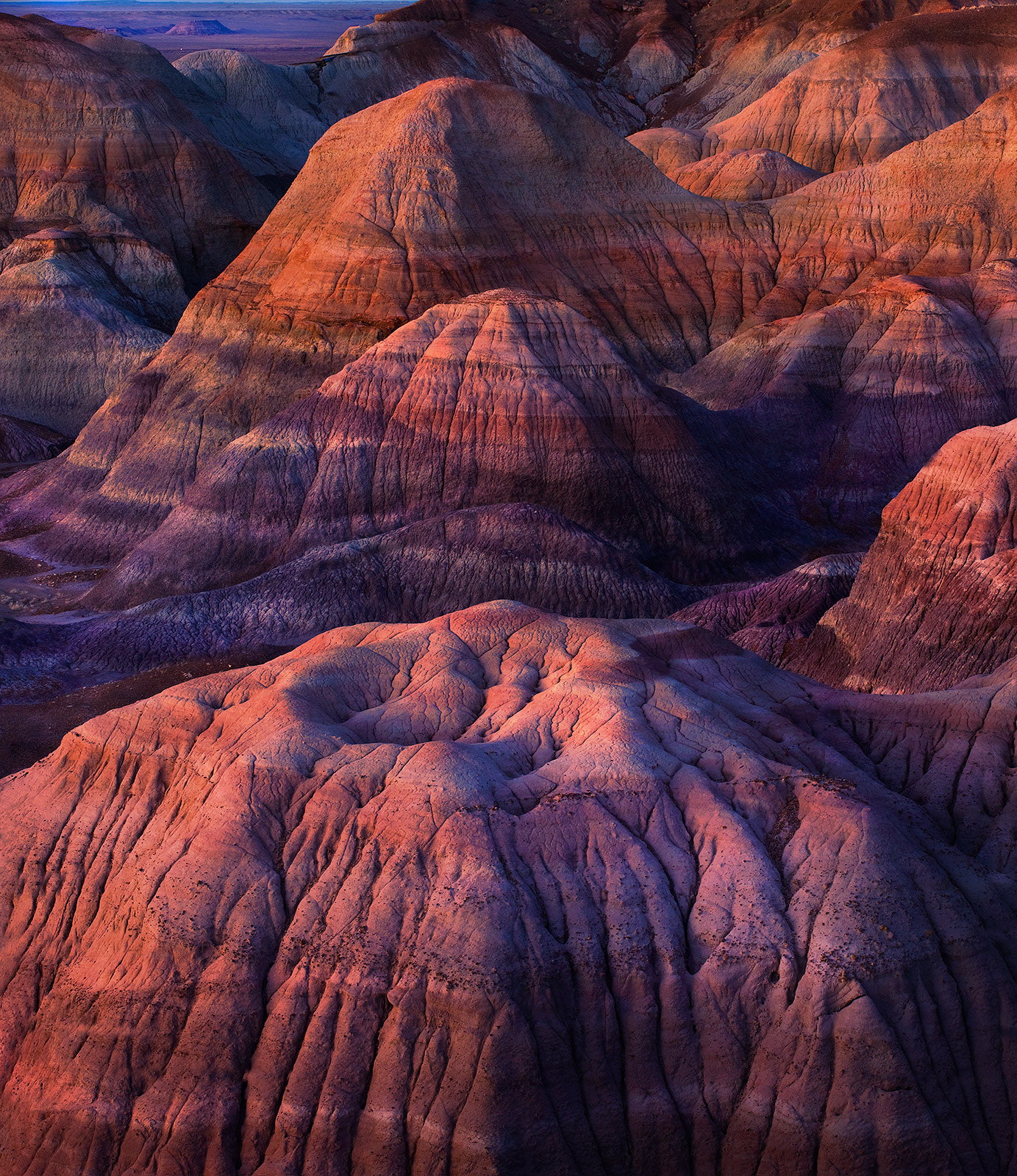 Arizona, Painted Desert, sunset, photo