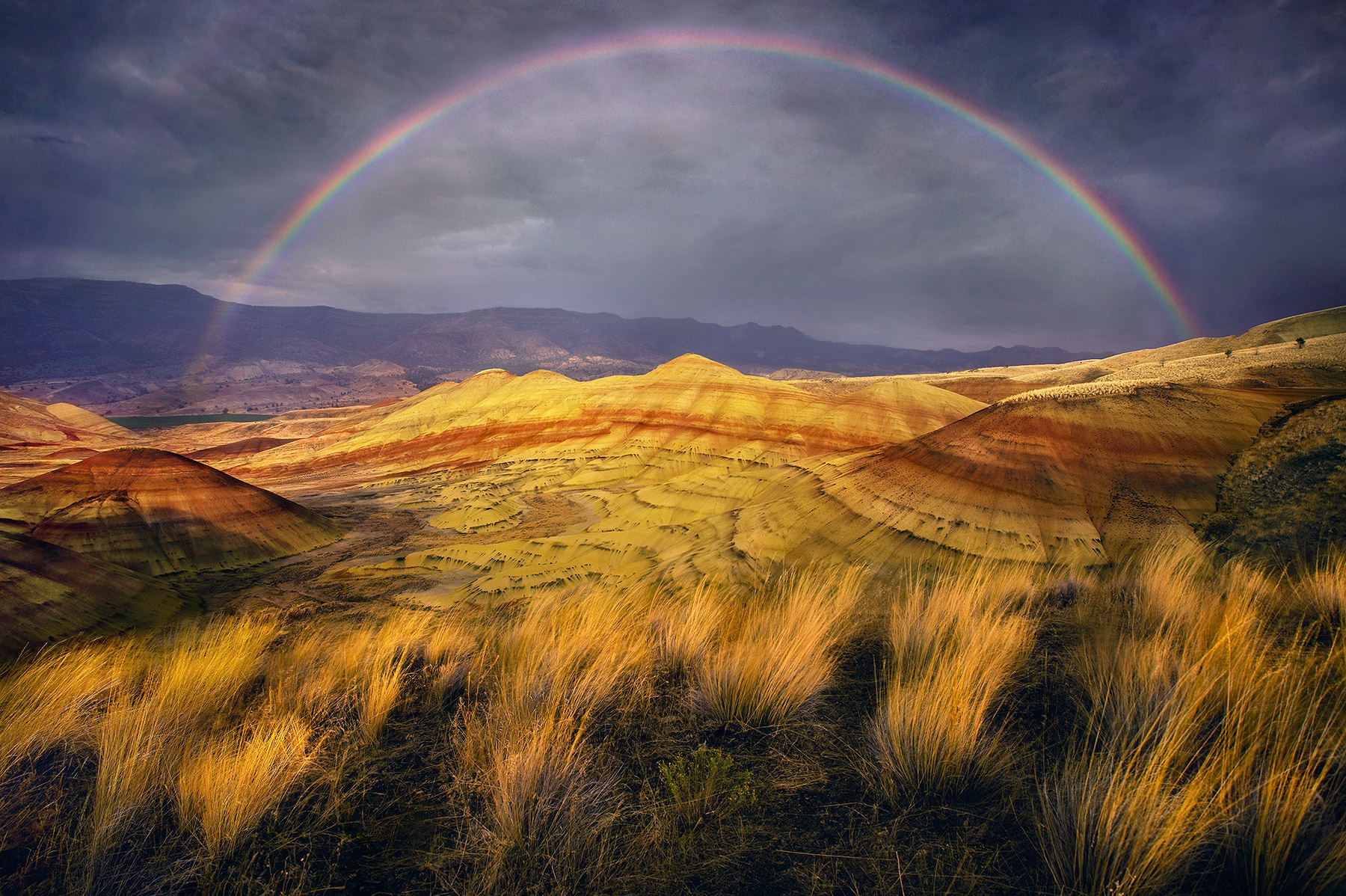 Oregon, Painted Hills, photo