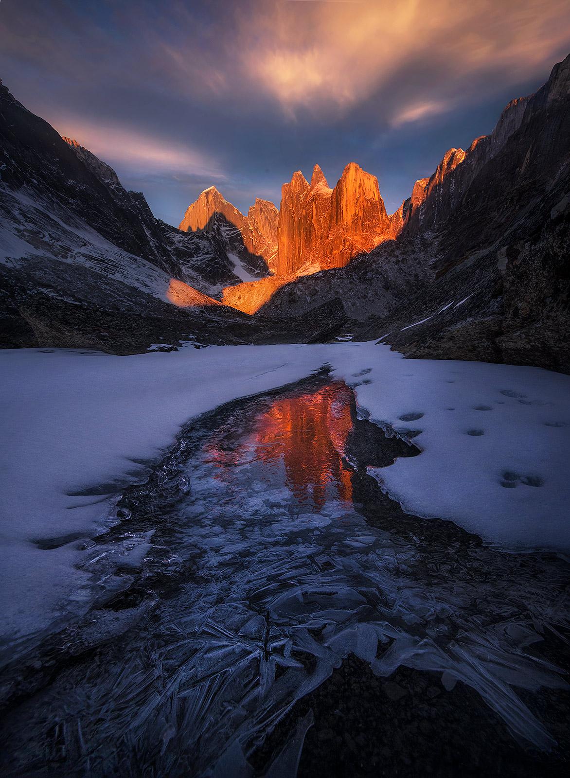 NWT, northwest territories, Mackenzie, mountains, Canada , photo