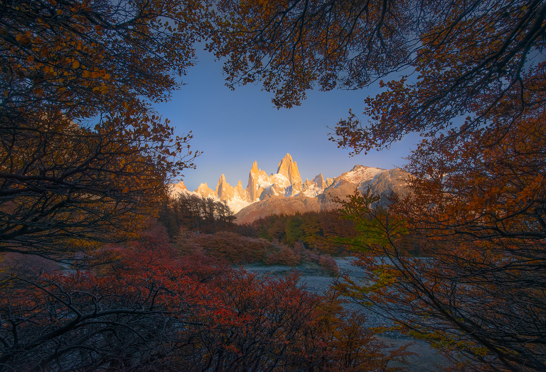 fall, autumn, patagonia, fitz roy, unique, photo