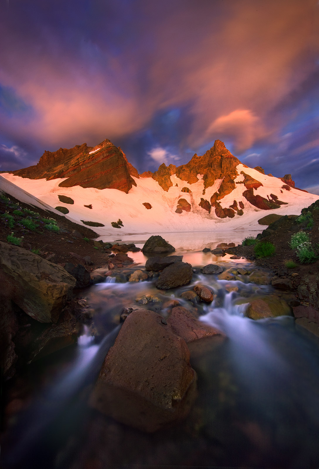 Sunrise, Oregon, Cascades, photo
