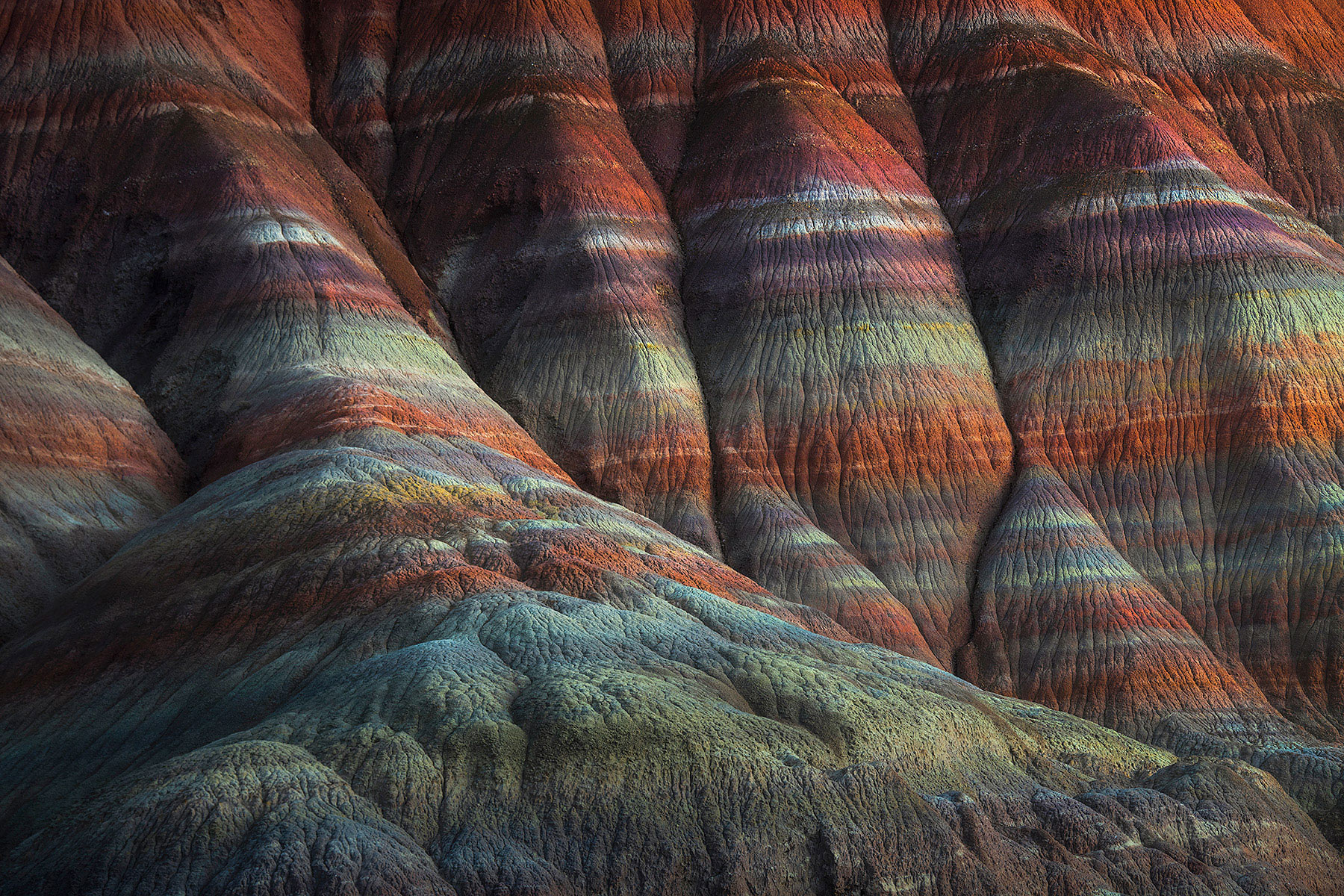 old paria, badlands, Arizona, canyon, layers, photo