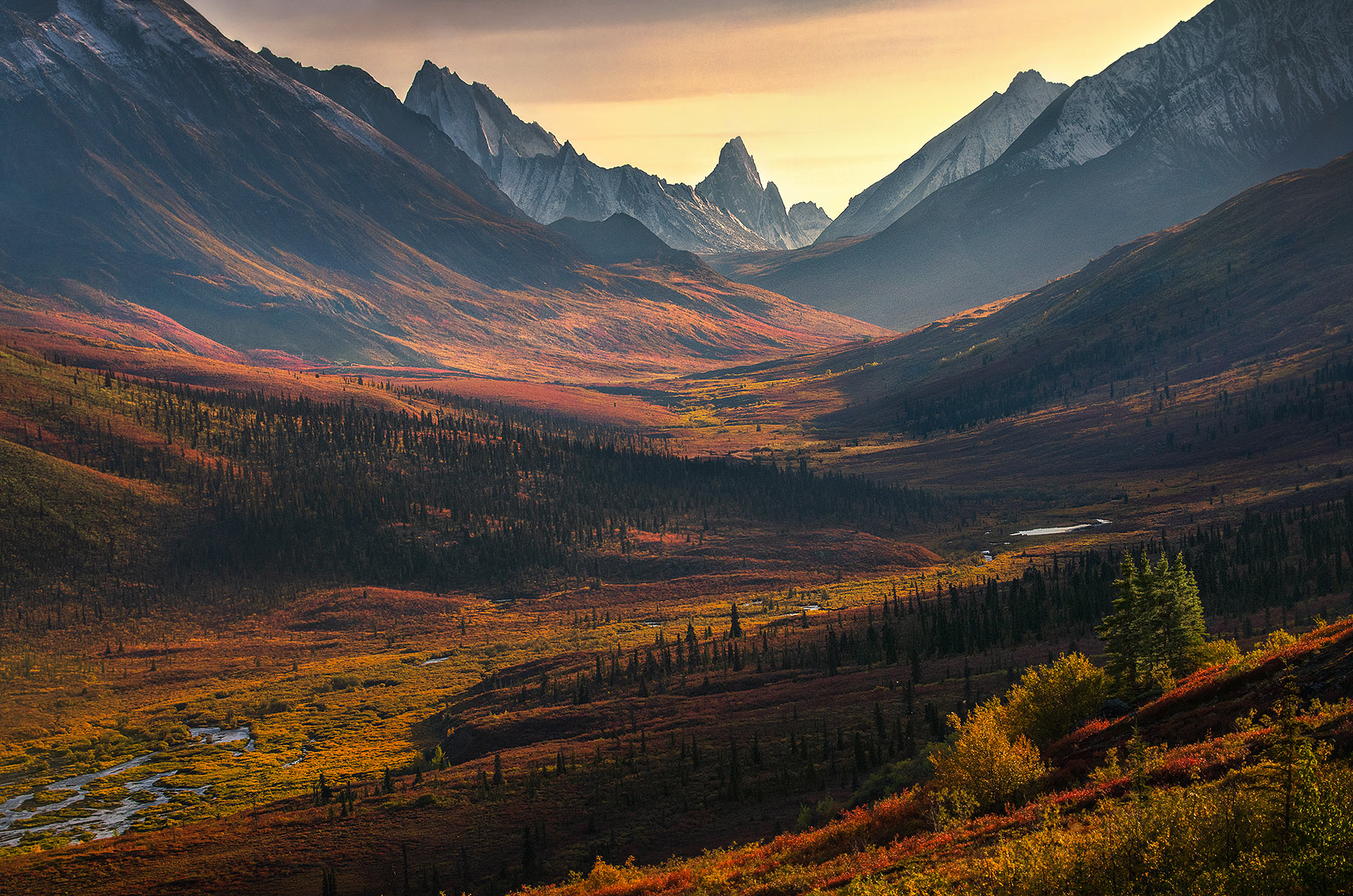 autumn, tombstone, Yukon, Klondike, autumn , photo