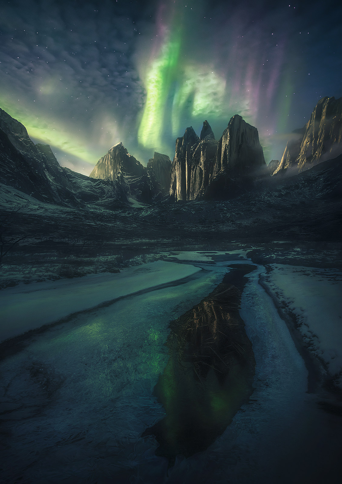 Northwest Territories Canada Aurora , photo