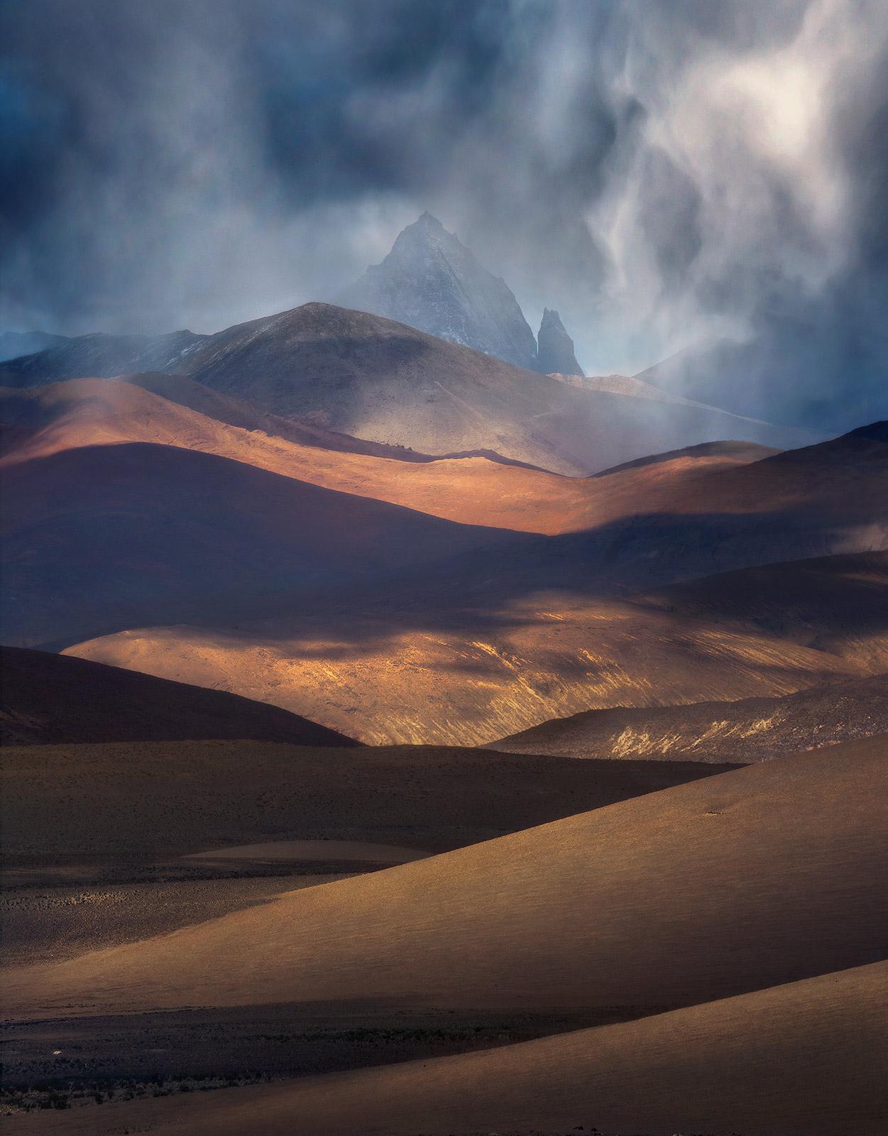 Tibet, Storm, photo