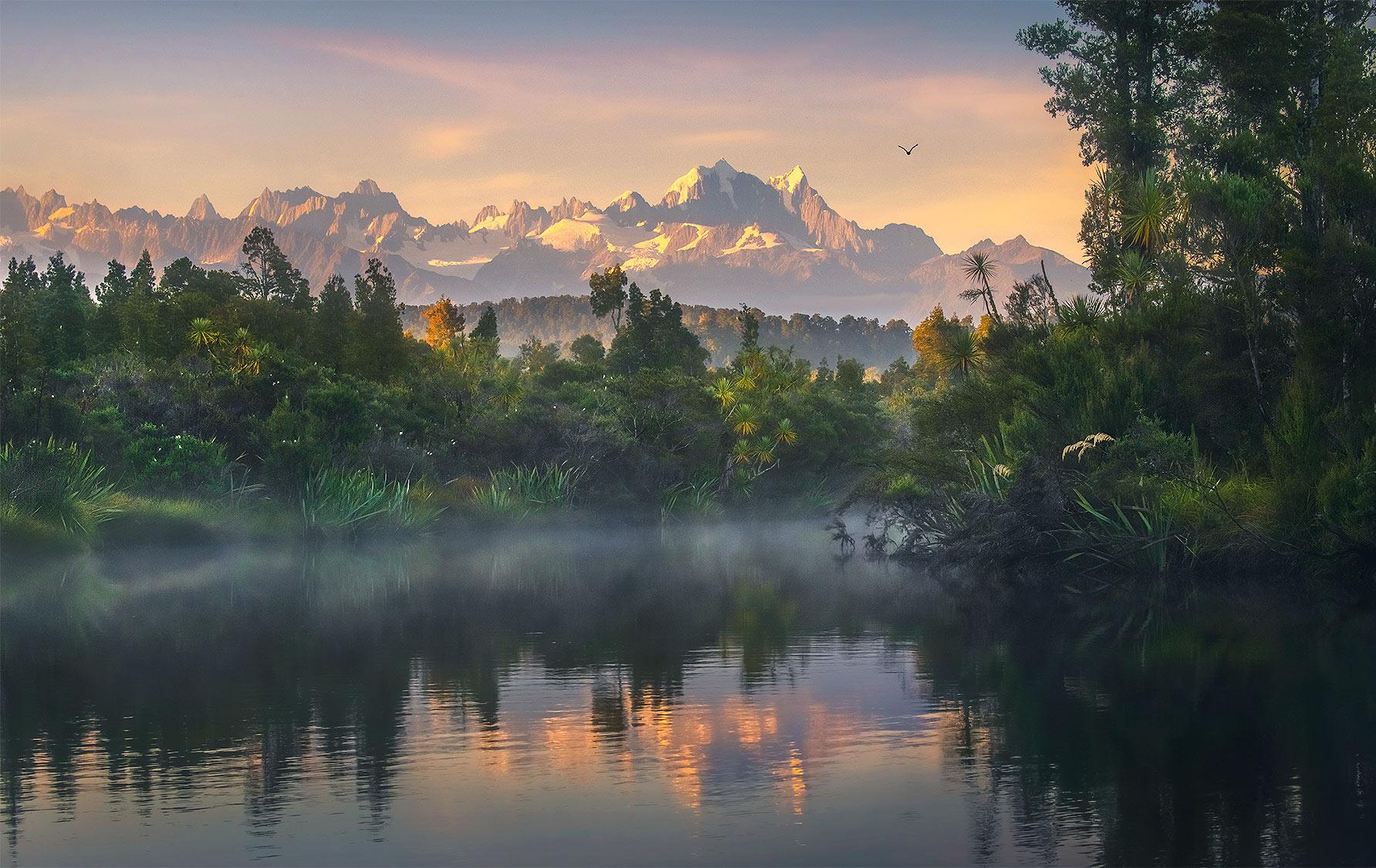 Mt Cook, new Zealand, Okarito, photo